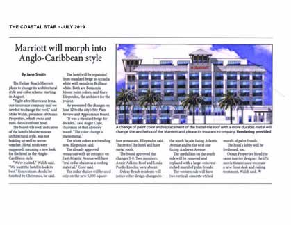 Marriott will morph into Anglo-Caribbean style.